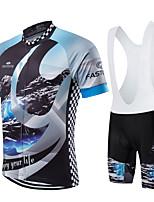 Esportivo Moto/Ciclismo Calções Bibes / Pulôver / Camisa/Fietsshirt / Camisa + Shorts / Camisa + Bermuda Bib / Conjuntos de Roupas/Ternos