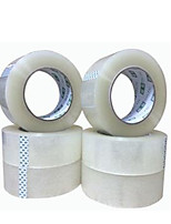 Two Transparent 4.8Cm * 25Mm Sealing Tapes Per Pack