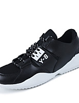 Men's Oxfords Spring / Fall Comfort Tulle Casual Flat Heel  Black / Blue / Red Sneaker
