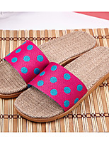 Women's Slippers & Flip-Flops Summer Comfort PVC Casual Flat Heel Others Blue Brown Pink Purple Others