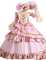 Steampunk@Women's Layered Gothic Lolita Palace Dress Belle Costume  Halloween Party Dress