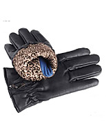 Men'S Leather Gloves Leather Gloves Motorcycle Riding Fall PU