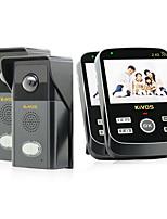 30W像素 170° CMOS système sonnette Sans fil Photographié / Enregistrement