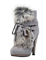 Women's Boots Spring / Fall / Winter Platform / Fashion Boots Leatherette Party & Evening / Casual Stiletto Heel