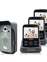 30W像素 120° CMOS système sonnette Sans fil Photographié / Enregistrement