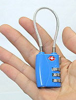 Viagem Cadeado para Mala / Cadeado com Código Acessório de Bagagem Lega