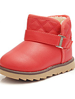 Girl's Boots Fall / Winter Snow Boots / Fashion Boots Leatherette Outdoor / Casual Flat Heel Buckle  Snow Boots