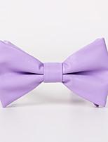 Для мужчин Винтаж / Для вечеринки / Для офиса / На каждый день Бабочка,Нейлон Однотонный,Красный / Черный / Белый / Синий / Розовый /