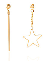 EarringStud Earrings GeometricJewelry 1 pair Fashionable / Personality / Adorable Alloy / Acrylic Gold