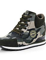 Women's Sneakers Spring / Fall Comfort PU Casual Flat Heel  Green Sneaker