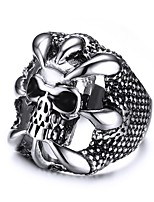 Men's  Fashion Personality  Cool  Devil's Talons  Ghost Stainless Steel High Polished Band Rings(1Pc)