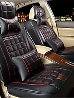 новый автомобиль сиденье в окружении большой кожаный жилет 3d ПВХ черного цвета подушки используются в четырех сезонов