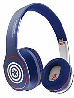 MARVEL HERO Avengers Iron Man & Captain America Bluetooth V4.1 Over-ear Stereo Headphone Headset Built-in Mic