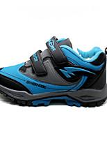 Unisex-scarpe da ginnastica-Casual-Punta arrotondata-Piatto-PU (Poliuretano)-Blu