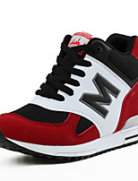 Women's Sneakers Spring / Fall Comfort Rubber Casual Flat Heel Black / Gray / Burgundy Others