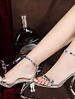 Women's Heels Summer Comfort PU Casual Stiletto Heel Others Silver Gold Others