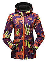Hiking Softshell Jacket Women's Thermal / Warm / Windproof / Wearable / Sweat-wicking Spring / Fall/Autumn Fleece