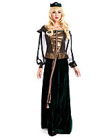 Costumes More Costumes Halloween Black Patchwork Terylene Dress / More Accessories