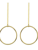 Earring Circle Jewelry Women Adorable / Fashion Party / Daily Alloy 1 pair Gold KAYSHINE