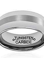 RingsJewelry Fashionable / Hypoallergenic Holloween / Wedding / Party / Daily / Casual Tungsten Steel Gray 1pc7