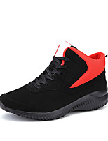 Femme-Sport-Bleu / Noir et rouge / Noir et blanc-Talon Plat-Ballerines-Chaussures d'Athlétisme-Polyuréthane