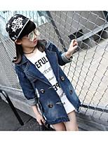 Jeans Girl Casual Con stampe Cotone Primavera / Autunno Blu