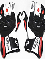 FURYGAN AFS18 Racing Motorcycle Gloves Men Riding Anti Drop Leather Gloves