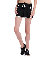 Course / Running Short baggy Femme Respirable / Séchage rapide / Compression / Confortable Polyester Course/Running Sportif non élastique