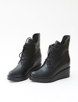 Women's Heels Spring / Fall / Winter Comfort / Round Toe / Closed Toe  Casual Platform OthersWalking