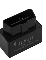 мини Bluetooth OBD2 ELM327 супер черный v2.1 версия детектора автомобиля