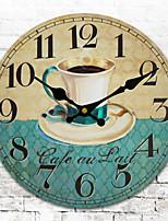 1PC Mute Wall Clock Fashion  Sitting Room Bedroom Wall Clock  Quartz Clock