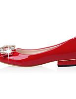 Women's Heels women flat ls Round Toe / Closed Toe Leatherette Office & Career / Dress / Casual Chunky Heel
