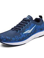 Синий-Унисекс-Для прогулок / На каждый день / Для занятий спортом-Тюль-На низком каблуке-Удобная обувь-Кеды