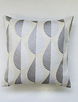 Geometric Jacquard Cushion Cover-Beige