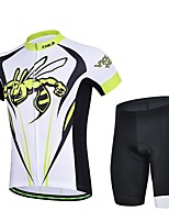 Sports® Cycling Jersey with Shorts Women's / Men's / Unisex Short SleeveBreathable / Quick Dry / Wearable / Compression / 3D Pad / Back