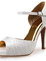 Women's Sandals Platform / Sandals / Styles Lace / Fabric Wedding / Party & Evening / Dress Stiletto Heel