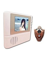 2.8 Inch LCD Anti-Theft No Radiation Low Power Consumption Visual Doorbell