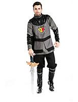 Costumes Warrior Halloween Black / Gray Patchwork Terylene Top / Pants / More Accessories