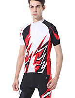 Sports Bike/Cycling Clothing Sets/Suits Men's Short Sleeve Breathable / Compression / Comfortable / Sunscreen