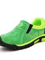 Синий Коричневый Зеленый Тёмно-синий-Для мальчиков-Для прогулок Повседневный Для занятий спортом-Дерматин-На танкетке-Оригинальная обувь