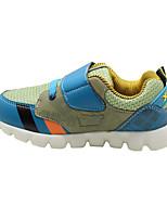 Per bambino-scarpe da ginnastica-Casual-Punta arrotondata-Piatto-PU (Poliuretano)-Nero / Blu / Marrone