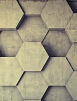 Décoration artistique Fond d'écran pour la maison Rétro Revêtement , Toile Matériel adhésif requis Mural , Chambre Wallcovering