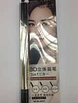Eyebrow Pencil Dry Natural Black Eyes