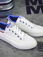 Men's Sneakers Spring Fall Comfort Canvas Outdoor Flat Heel Others Black Blue Green
