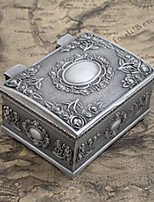 Jewelry Boxes Alloy 1pc Silver