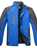 Hiking Tracksuit / Softshell Jacket / Tops Men's Breathable / Thermal / Warm / Windproof / Dust Proof / Protective Fall/Autumn / Winter