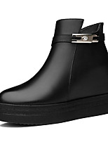 Women's Boots Spring /Fall/Winter Creepers Synthetic Office & Career / Party & Evening/Casual Platform Black