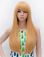 Черный парик Парики для женщин Блондинка Карнавальные парики Косплей парики