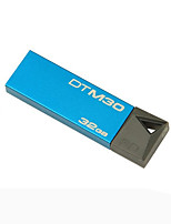 kingston stylo dtm30 lecteur 32gb usb 3.0 mini-métal dur bâton pendrive flash