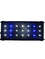 1PCS 30CM 21LED SMD2835 Blue&White Aquarium Fish Tank Waterproof LED Light Bar Submersible Down Lamp AC85-265V